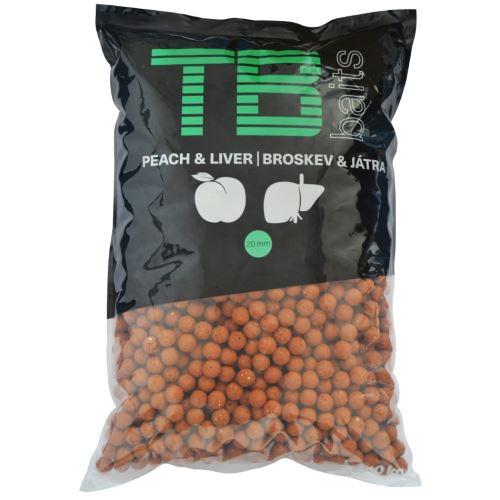 TB Baits Boilie Peach Liver