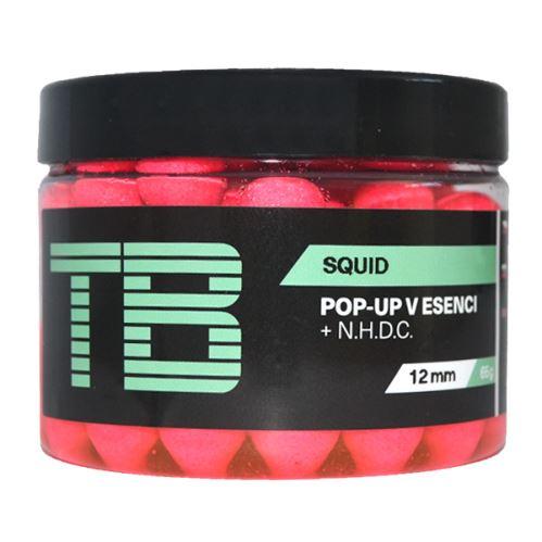 TB Baits Plávajúce Boilie Pop-Up Squid + NHDC 65 g
