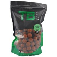 TB Baits Hard Boilie Hot Spice Plum - 1 kg 24 mm