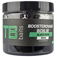 TB Baits Boosterované Boilie Black Pearl 120 g - 24 mm
