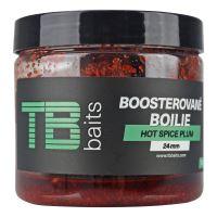 TB Baits Boosterované Boilie Hot Spice Plum 120 g - 16 mm