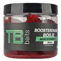 TB Baits Boosterované Boilie Squid Strawberry 120 g - 24 mm