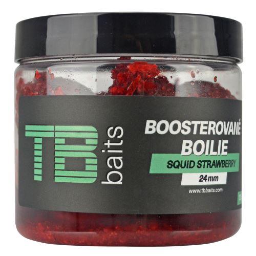 TB Baits Boosterované Boilie Squid Strawberry 120 g