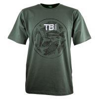 TB Baits Tričko Vintage Green - XXXL