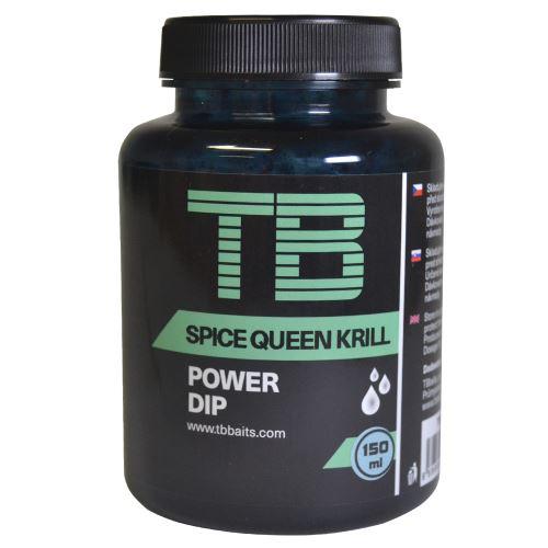 TB Baits Power Dip Spice Queen Krill 150 ml