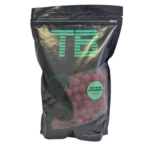 TB Baits Boilie GLM Squid Strawberry