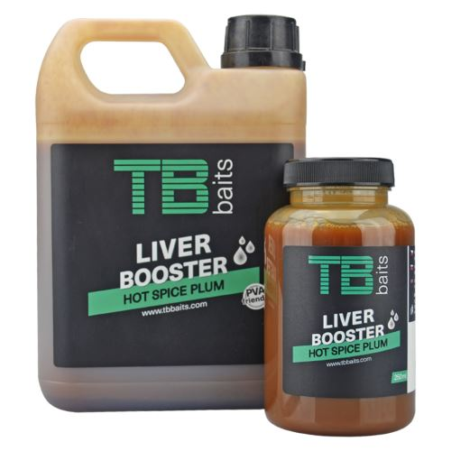 TB Baits Liver Booster Hot Spice Plum