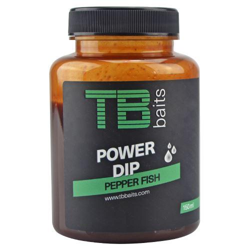 TB Baits Power Dip Pepper Fish 150 ml