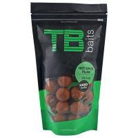 TB Baits Hard Boilie Hot Spice Plum - 250 g 24 mm