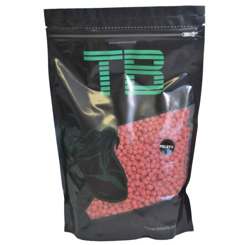TB Baits Pelety Strawberry Butter