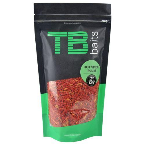 TB Baits PVA Stick Mix Hot Spice Plum - 200 g