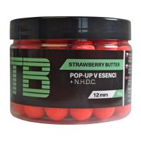 TB Baits Plávajúce Boilie Pop-Up Strawberry Butter + NHDC 65 g-16 mm