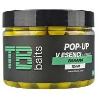 TB Baits Plávajúce Boilie Pop-Up Banana + NHDC 65 g-12 mm