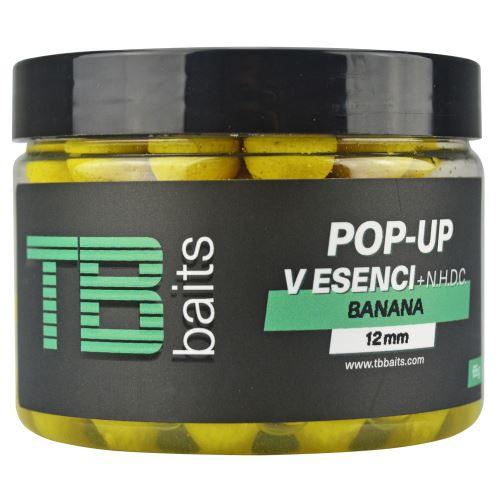 TB Baits Plávajúce Boilie Pop-Up Banana + NHDC 65 g