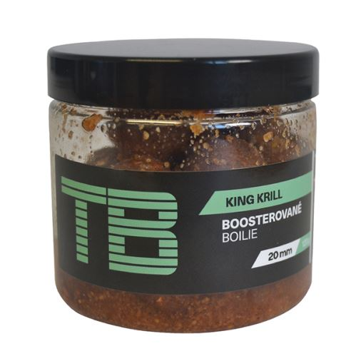 TB Baits Boosterované Boilie King Krill 120 g