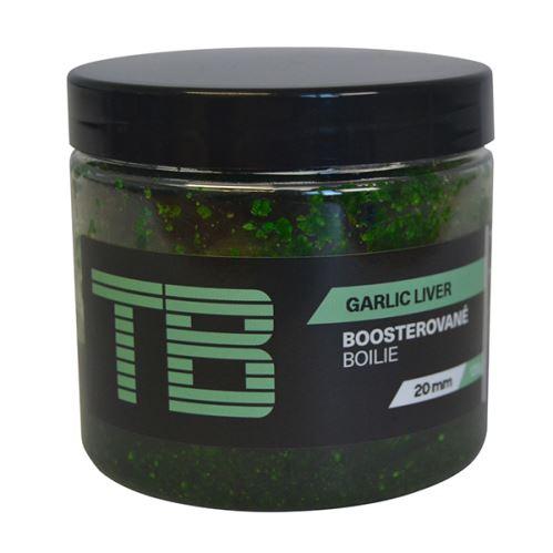 TB Baits Boosterované Boilie Garlic Liver 120 g - 20 mm