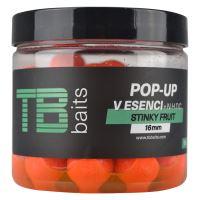 TB Baits Plávajúce Boilie Pop-Up Stinky fruit + NHDC 65 g-16 mm