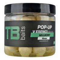 TB Baits Plávajúce Boilie Pop-Up Mulberry + NHDC 65 g-16 mm