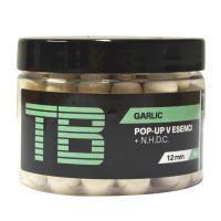 TB Baits Plávajúce Boilie Pop-Up White Garlic + NHDC 65 g-12 mm
