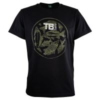 TB Baits Tričko Vintage Black Lady - XL