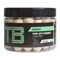 TB Baits Plávajúce Boilie Pop-Up White Garlic + NHDC 65 g-12 mm