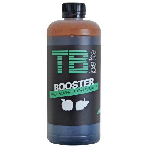 TB Baits Booster Peach Liver 500 ml