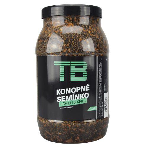 TB Baits Partikel Konopné Semienko + Chilli & Krill 2,25 L