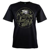 TB Baits Tričko Vintage Black - L