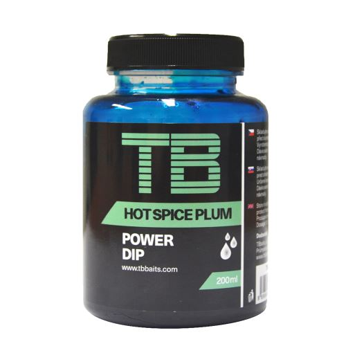 TB Baits Power Dip Hot Spice Plum 150 ml
