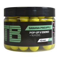TB Baits Plávajúce Boilie Pop-Up Yellow Banana Pineapple + NHDC 65 g-16 mm