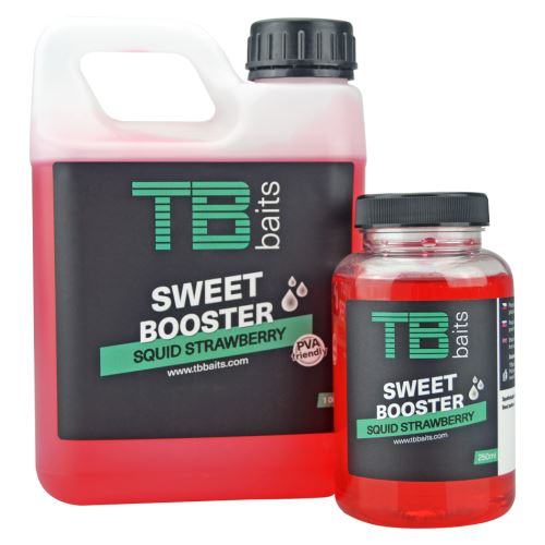 TB Baits Sweet Booster Squid Strawberry