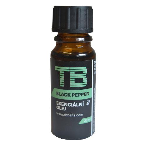 TB Baits Esenciálný Olej Black Pepper 10 mll