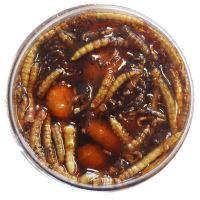 TB Baits Nakladaný Tigrí Orech XXL + Červ 150 ml-Bloodworm