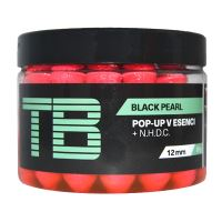 TB Baits Plávajúce Boilie Pop-Up Pink Black Pearl + NHDC 65 g-12 mm