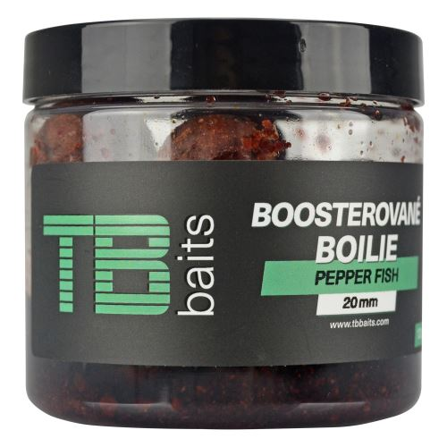 TB Baits Boosterované Boilie Pepper Fish 120 g